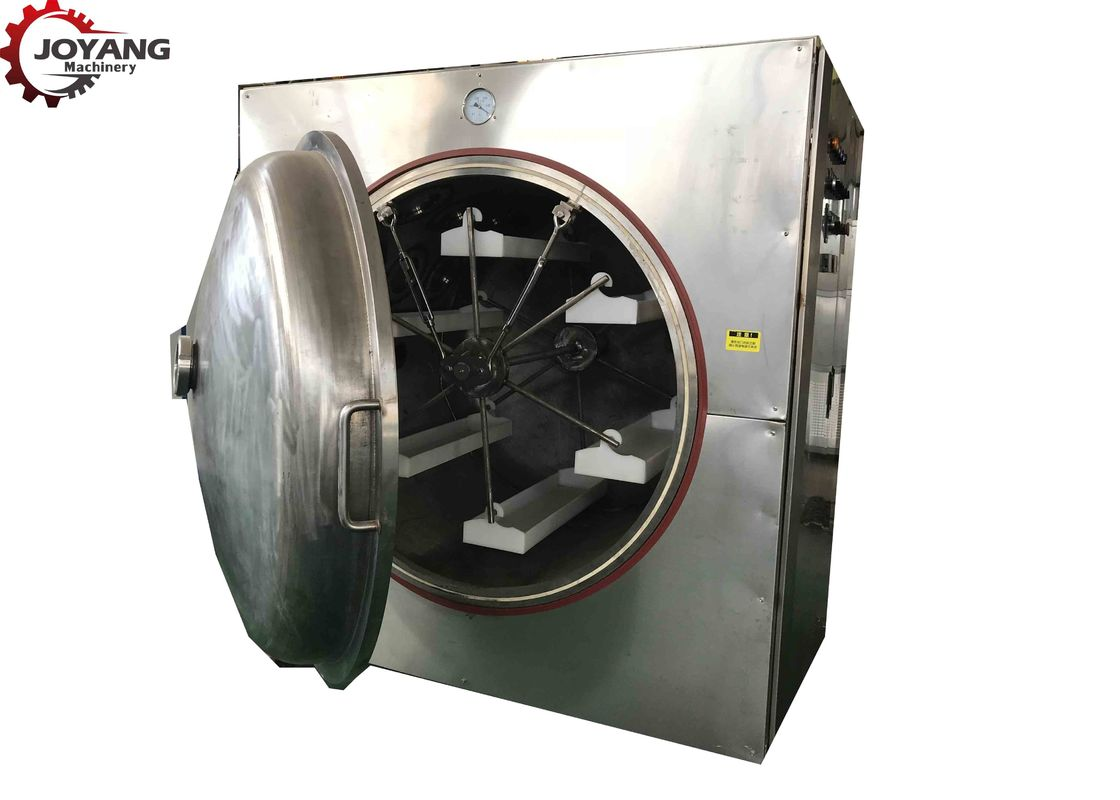 Stainless Steel Vacuum Drying Equipment , Microwave Vacuum Dryer Low Drying Temp